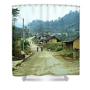 Bac Ha Town Shower Curtain