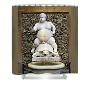 Bacchus Fountain Shower Curtain