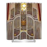 Bach Organ Leipzig Shower Curtain