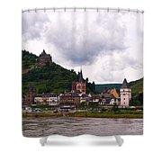 Bacharach Am Rhein And Burg Stahleck Shower Curtain