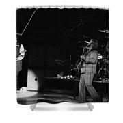 Bachman-turner Overdrive In Spokane In 1976 Shower Curtain