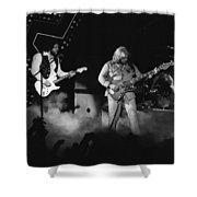 Bachman-turner Overdrive Smokin In Spokane 1976 Shower Curtain
