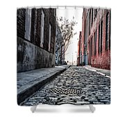 Back Alley Shower Curtain
