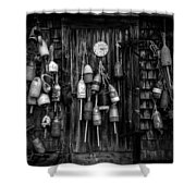 Back At Four Fifteen Shower Curtain