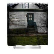 Back Door Shower Curtain