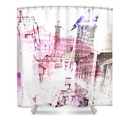 Back In Day  Shower Curtain