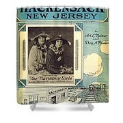 Back In Hackensack New Jersey Shower Curtain