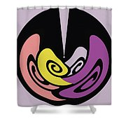 Back In Shape 4 Shower Curtain by Mihaela Stancu