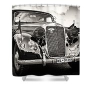 Back In Time... Shower Curtain