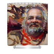 Back In Town Shower Curtain