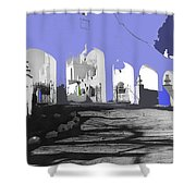 Back North Entrance #2 Of San Xavier Mission Tucson Arizona 1979-2013  Shower Curtain