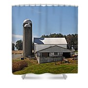 Back Of The Barn Shower Curtain