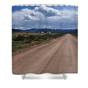 Back Road Shower Curtain
