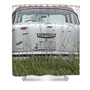 Back Roads Shower Curtain