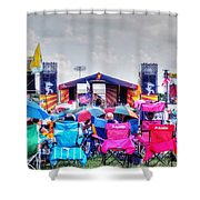 Back Row Seats Shower Curtain