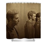 Back Stage With Nsync S Shower Curtain
