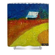 Back Way Home Shower Curtain