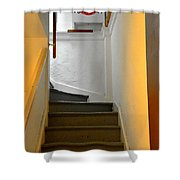 Back Way Shower Curtain