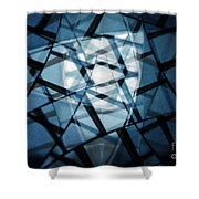 Background Code Shower Curtain