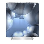 Background Effect Shower Curtain