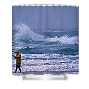Backlash Shower Curtain