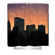Backlit Shower Curtain