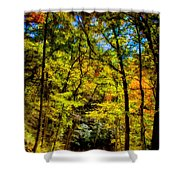 Backroads Of The Great Smoky Mountains National Park Shower Curtain