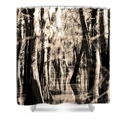 Backwater Cajun Country Shower Curtain