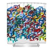 Backyards Shower Curtain