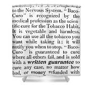 Baco-curo Ad, 1893 Shower Curtain