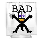 Bad Babe Shower Curtain