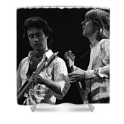 Bad Company At Work In 1977 Shower Curtain