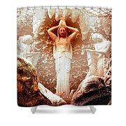 Bad Dreams Shower Curtain