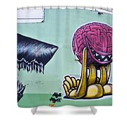 Bad Thoughts Shower Curtain