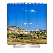 Badlands 10 Shower Curtain