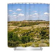 Badlands 21 Shower Curtain