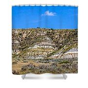 Badlands 27 Shower Curtain