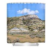 Badlands 30 Shower Curtain