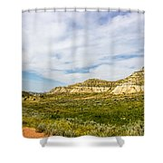 Badlands 38 Shower Curtain