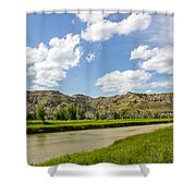Badlands 44 Shower Curtain