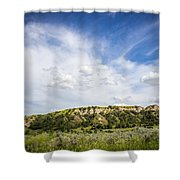 Badlands 48 Shower Curtain