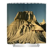 Badlands Hoodoo Shower Curtain