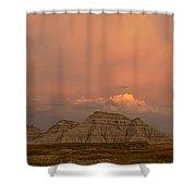 Badlands Softlight South Dakota Shower Curtain