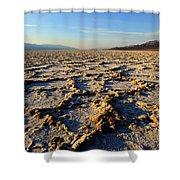 Badwater Basin Shower Curtain