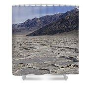 Badwater Basin Vista Shower Curtain