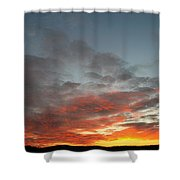 Bafflin Sanctuary Light Shower Curtain