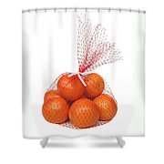 Bag Of Oranges Shower Curtain