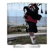 Bag Piper Shower Curtain