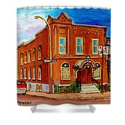 Bagg And Clark Street Synagogue Shower Curtain