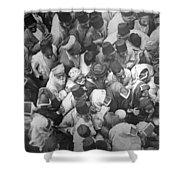 Baghdad Crowd Shower Curtain